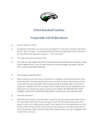 Pretty Softball Coaching Resume Examples Contemporary Entry Level