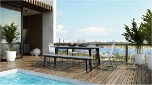 houzz patio furniture. Wooden Patio Tables Minimalist Houzz Furniture Best Modloft O
