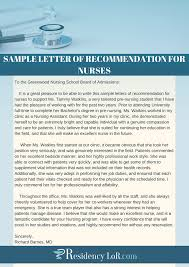 The Best Nurse Recommendation Letter Writing Help Expert