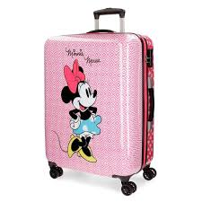 Disney Trolley Minnie Mouse 70 Liters Girls Pink Internet Toys