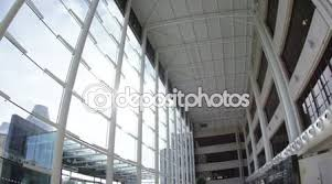 wide angle view busy design office. Interior View Of Office Building Wide Angle Busy Design F