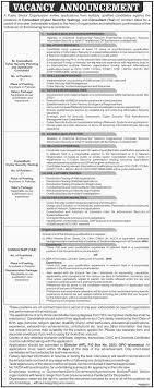 Po Box 2553 Islamabad Jobs 2017 Public Sector Organization Latest