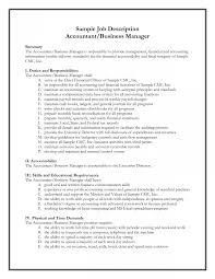 Accounting Job Description Financial Accountant Job Description Template Help Me Do My Essay 3