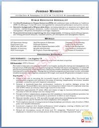 Gallery Of Hr Resume Templates