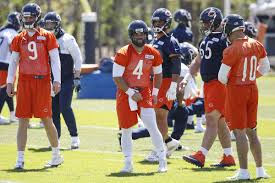 Chicago Bears Depth Chart 2018 Chicago Bears 2018 Position Battles Expect All Three