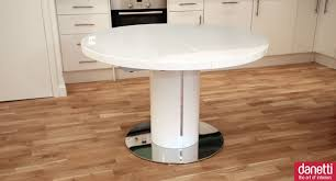 fascinating selection of expandable round dining room tables stunning white gloss round expandable dining table