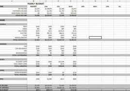 examples of personal budgets sample budget on excel and examples of business budgets