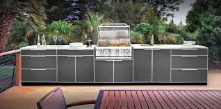 Outdoor Kitchen Cabinet Custom Decor Newage Outdoor Kitchen Aluminum