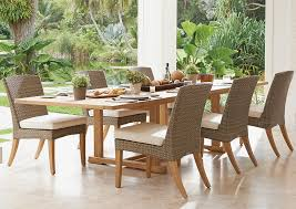 furniture made of wood. All Weather Patio Furniture Discount Outdoor A Set Of Dining Table Made Wood