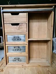 large industrial wall cabinet vintage