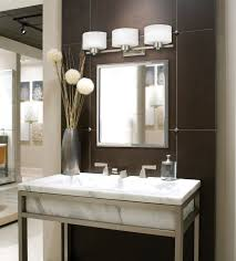 Bathroom Vanity Sconce Extraordinary Fabulous White Sconces Over The Mirror For Great Bathroom Vanity