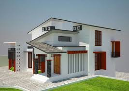 low budget kerala home design with 3d plan