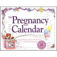 Pregnancy Callendar The Pregnancy Calendar