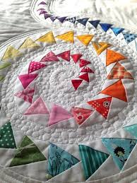 Spiral Geese Mini Quilt | Craftsy & 1 / 3 Adamdwight.com