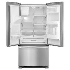 Mfi Replacement Kitchen Doors Mfi2269dre Maytag 33 22 Cu Ft French Door Refrigerator With