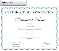 Examples Of Executive Resumes Training Certificate Format Doc Copy