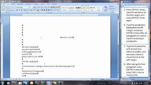 Business Letter Block Format Margins Cover Letter Templates