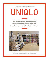 strategic initiative uniqlo by nicole drain issuu uniqlo marketing report