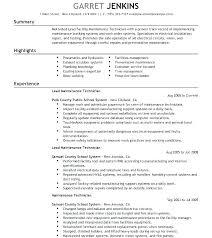 Surgical Instrument Repair Sample Resume Podarki Co