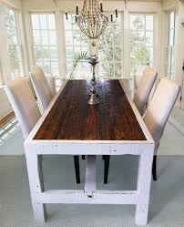 Narrow Kitchen Table Sets Alluring Dining Space With Narrow Dining