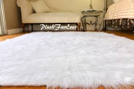 white faux fur rug 5 7 unique il fullxfull meb2 jpg version 0 in white fur rug