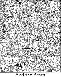 SPARK Garden Daze Find It! Color It! -- 5 coloring pages with ...
