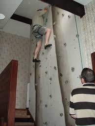 build an indoor rock climbing wall