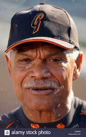San Francisco Giants' manager Felipe Alou, #23, answers questions Stock  Photo - Alamy