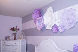 tutorial large flower wall art above bed 2 diy large paper flowers tutorial featured