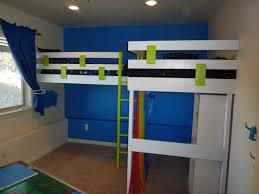 bedroom bedroom best diy double loft beds for teenagers wooden custom built plans with desk