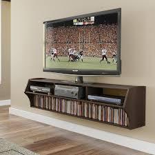 prepac altus espresso wall mounted tv stand
