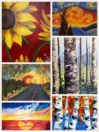 downtown paint night fun presented by painting with a twist downtown peakradar com