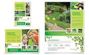 lawncare ad gardening lawn care ad templates word publisher
