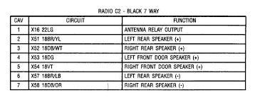 dodge ram stereo wiring diagram Door Speaker Wiring Diagram wiring diagram & pinout for 07' ram radio dodgeforum com 04 sierra door speaker wiring diagram