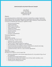In Writing Entry Level Administrative Assistant Resume Virtual