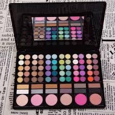 jual mac makeup professional eyeshadow palette 78 colors ana pusat
