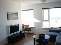 Hlar apartment rental - 701 living room. TV only has few channels 2-5