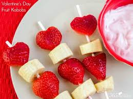 surprise your little valentines with these valentine s day fruit kabobs for breakfast or an after