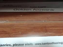 photos of golden arowana bamboo flooring costco review