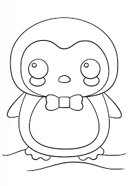 Penguin printable templates coloring pages firstpalette com. Little Cute Penguin Coloring Page Free Printable Coloring Pages For Kids