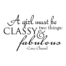 Classy And Fabulous Wall Quotes™ Decal WallQuotes Unique Fabulous Quotes
