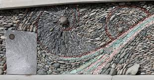 artist couple creates gorgeous stone wall art installations 12 pictures  on stone wall artist with artist couple creates gorgeous stone wall art installations stone