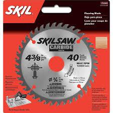 skil 4 3 8 in 40 tooth carbide circular saw blade