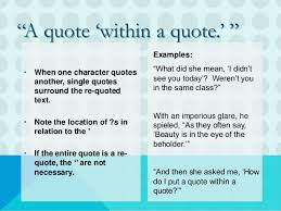Punctuation Quotes Quotes And Punctuation Writing Club June 2017