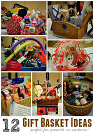 awesome gift basket ideas for auction