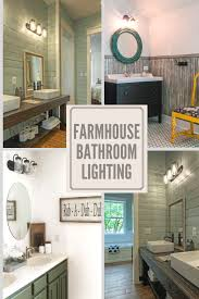Modern Farmhouse Bathroom Vanity Lighting Find New Farmhouse Bathroom Lighting Ideas From Lamp Goods