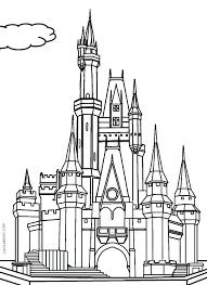 disney castle coloring pages castle coloring pages printable printable castle coloring pages for kids castle coloring