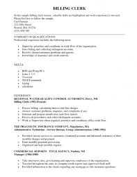 medical clerical resume