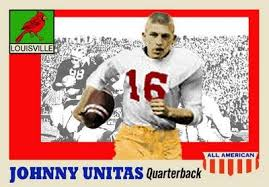 Image result for johnny unitas louisville jersey