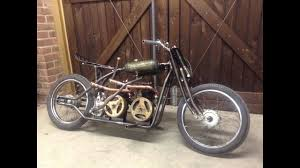 homemade villiers twin engine bike pictures videos